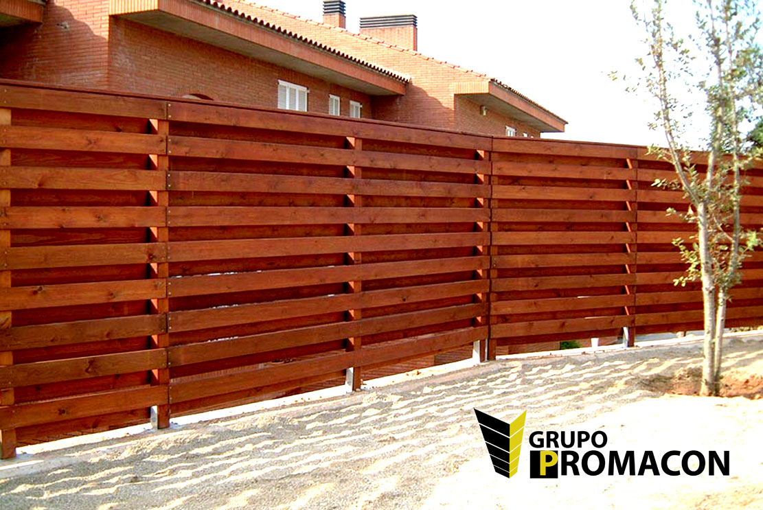 Vallas de aluminio para jardin valla de madera sinttica - Valla jardin pvc ...