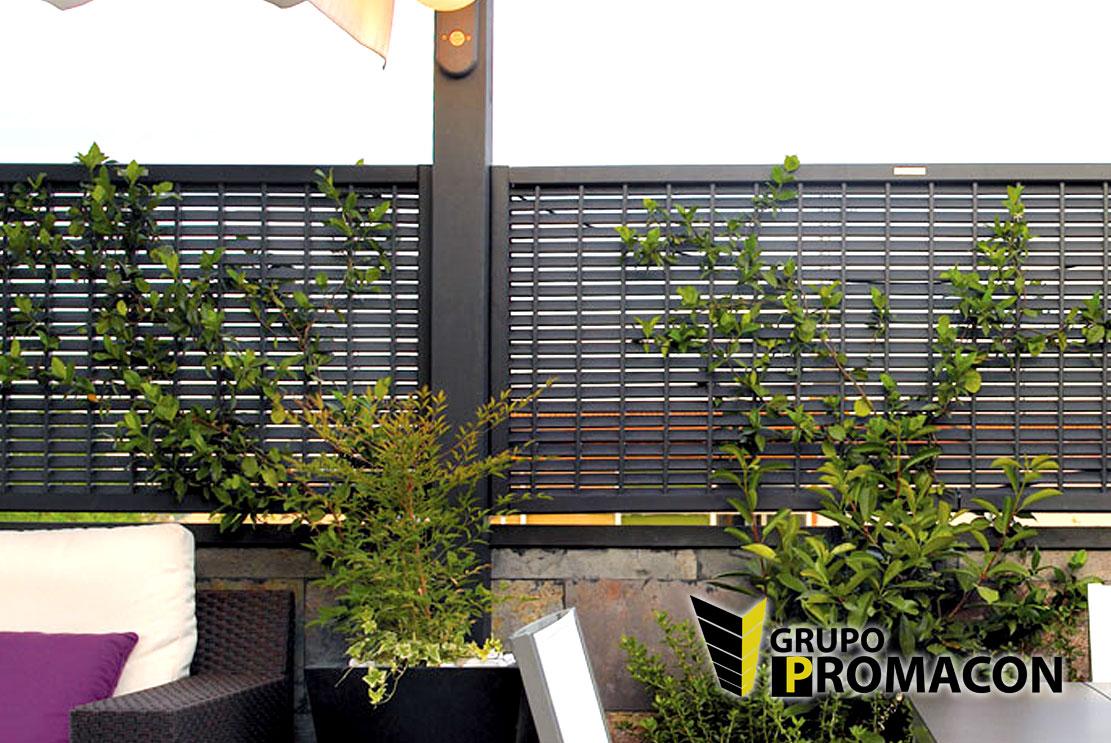 Vallas jardin pvc gallery of diferentes materiales vallas - Vallas de jardin ...