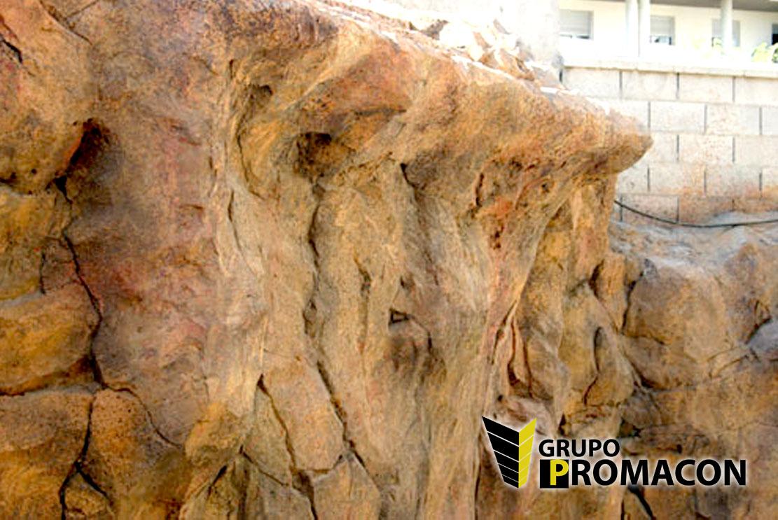 Imitacion rocas artificiales materiales de construcci n - Moldes para piedras artificiales ...